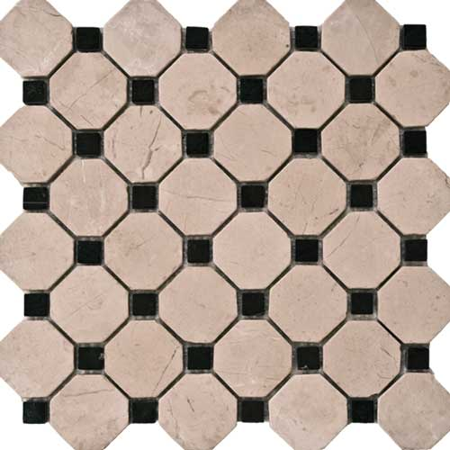 Antique Collection Mesh Mounted Mosaic